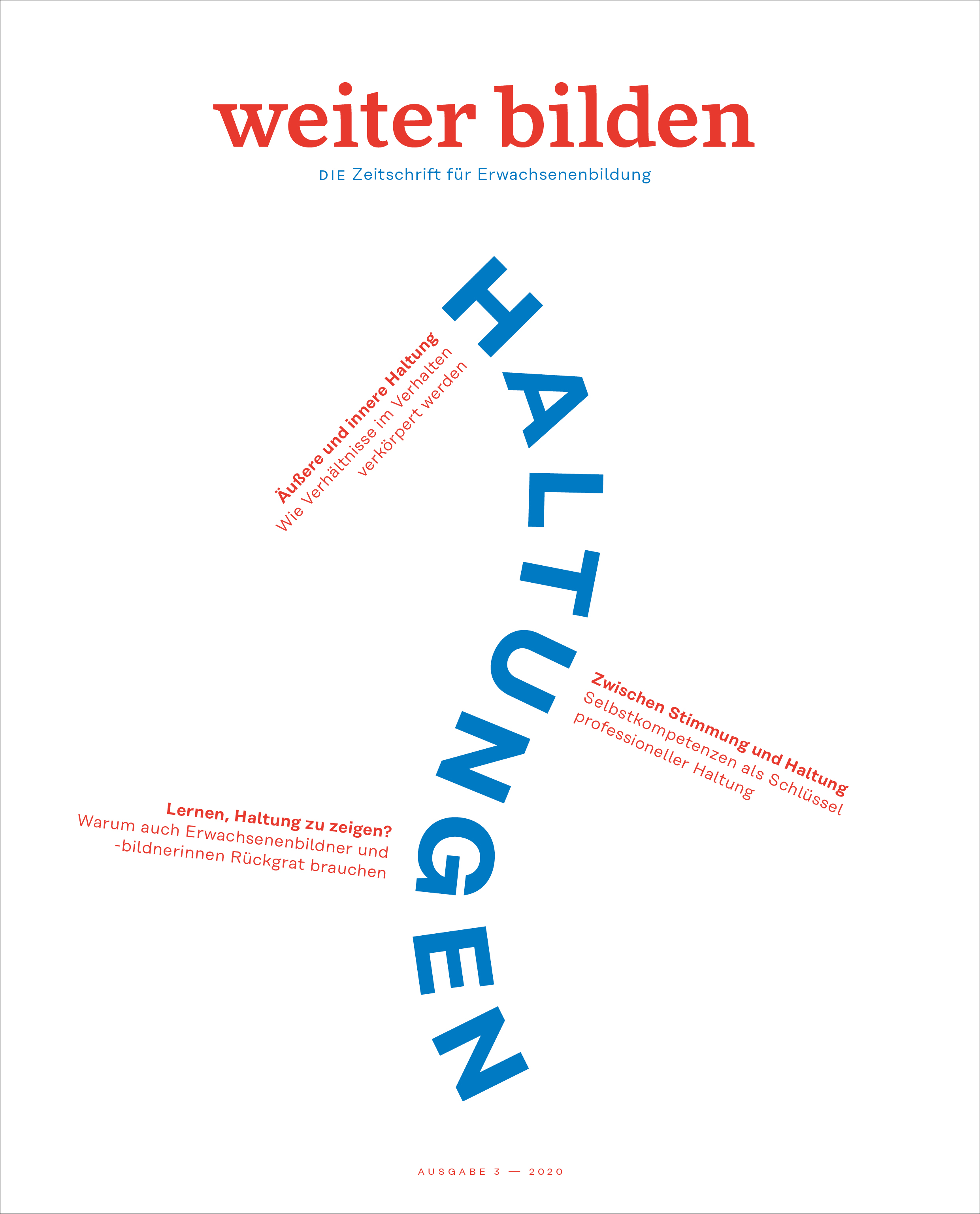 Cover weiter bilden vol. 3/2020