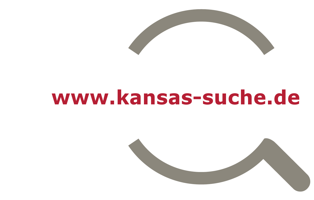 Logo and link to kansas search engine