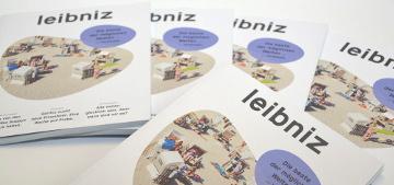 Schriftzug und Logo Leibniz Gemeinschaft